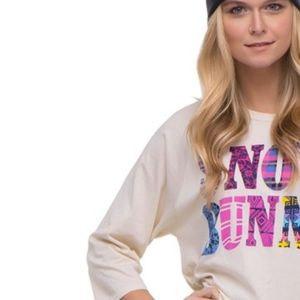Snow Bunny Long Sleeve Tee JUNK FOOD NWT